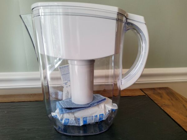 Brita Everyday Water Filter Pitcher with Filter 10 Cup White