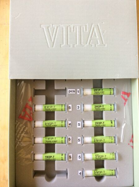 Vident VitaPM9 Pellet Kit includes H.T. T. and Opaque and Add On Powder Kit $710.00