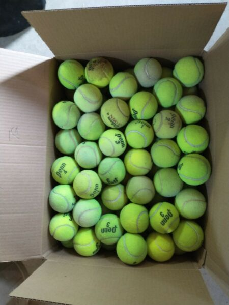 70 Used Tennis Balls mixed brands. Various Condition Used outdoor $43.99
