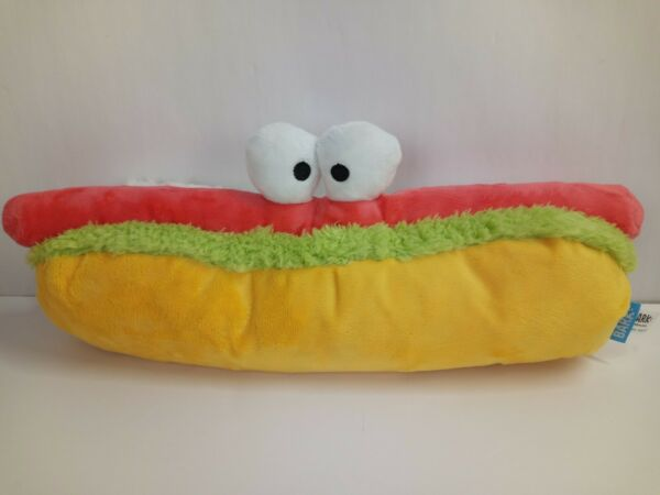Bark Box Hot Dog Dog Toy It#x27;s Squeaky and has Crinkle noises $15.99