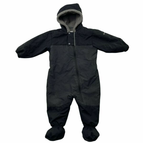 Columbia Bunting Size 18 24 M Black Sherpa Lined Hood Cute Factor Insulated