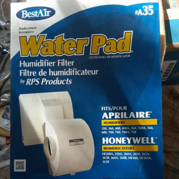 BestAir A35 Best Air Furnace Humidifier Evaporator Replacement Water Pad $12.00