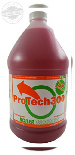 Outdoor Boiler Water Treatment Rust Inhibitor ProTech 300 1 Gallon 128 oz Red $68.75
