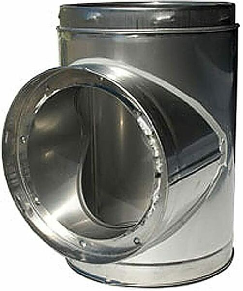 Outdoor Boiler Insulated Chimney Tee with Plug 8quot; $338.00