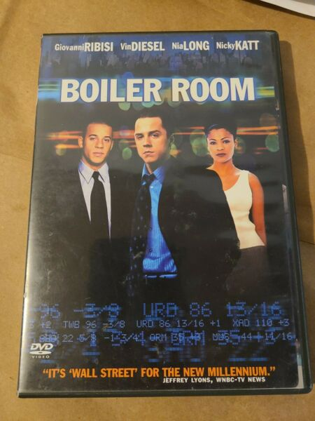 Boiler Room USED LIKE NEW DISC IS MINT SHIPS EXTREMELY FAST AND SECURE $5.99