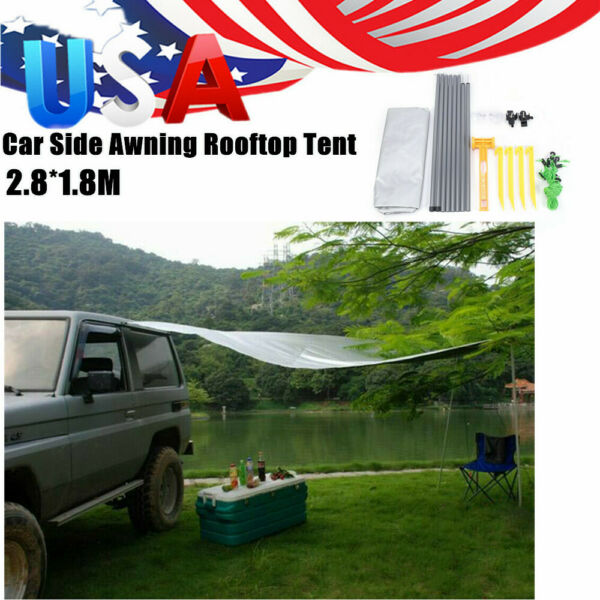 Awning Rooftop Car Tent SUV Shelter Truck Camper Outdoor Camping Canopy Sunshade $55.05