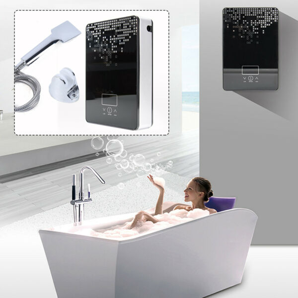 6500W Instant Hanging Electric Hot Water Heater Tankless Boiler Bath Shower New $71.00