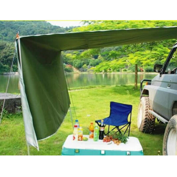 Awning Rooftop Car Tent Outdoor Sunshade Canopy SUV Truck Camping Travel Shelter $49.02