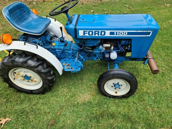1980 Ford Model 1100 Diesel Tractor 3PT PTO 296 Hours $5600.00