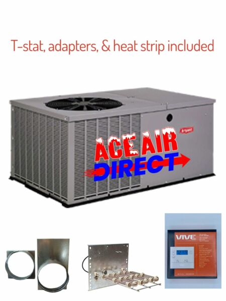 4 Ton 14 Seer Bryant by quot;CARRIERquot; Electric Heat Package Unit PA4ZNA048000 TP $2699.00