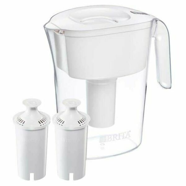 Brita Lake Pitcher 10 Cup with 2 Filters
