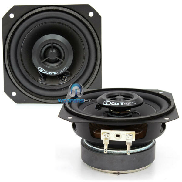 CL 4EX CDT AUDIO CLASSIC 4quot; CAR SILK DOME TWEETERS COAXIAL SPEAKERS PAIR NEW $79.99