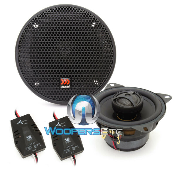 MOREL TEMPO COAX 4quot; CAR COAXIAL INTEGRATED TWEETERS SPEAKERS amp; CROSSOVERS MEW $169.99