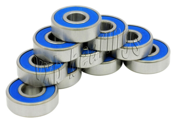 10 SR12 2RS 3 4quot;x 1 5 8quot;x 7 16quot; SR12RS Stainless inch Steel Ball Ball Bearings