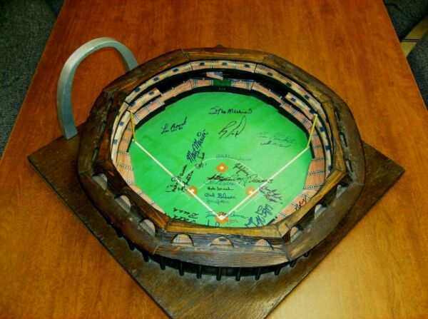 St. Louis Cardinals Baseball Autographed Busch Memorial Stadium Hand Made OOAK