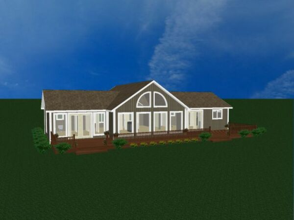 Chalet Home House Kit Vacation home Lake House Mountain Home Retirement Home