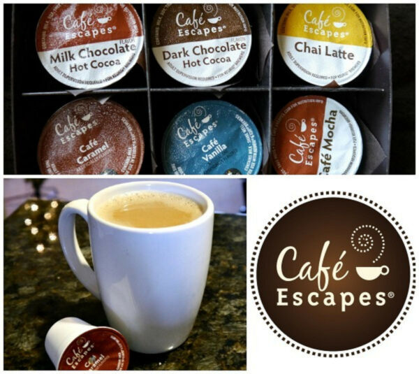 96 Bulk Lot CAFE Escapes wholesale KEURIG K-Cup Single cup Coffee pods