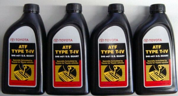 4 Quarts Toyota / Scion Automatic Transmission Fluid Type-4 ATF - OEM NEW!