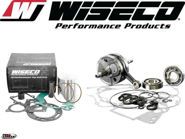 Wiseco Top & Bottom End Suzuki 2001-2003 RM 125 Engine Rebuild Kit CrankPiston