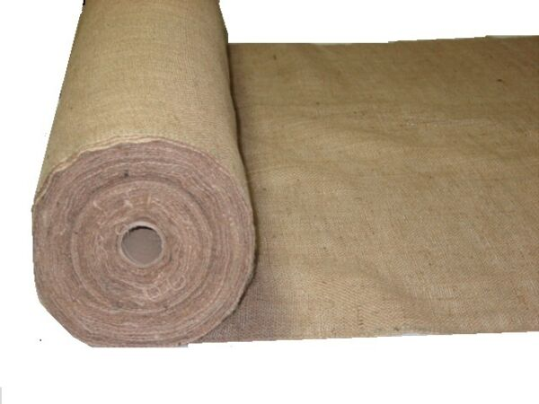10 yds 40 inch 10 oz Jute Upholstery Burlap FREE SHIPPING