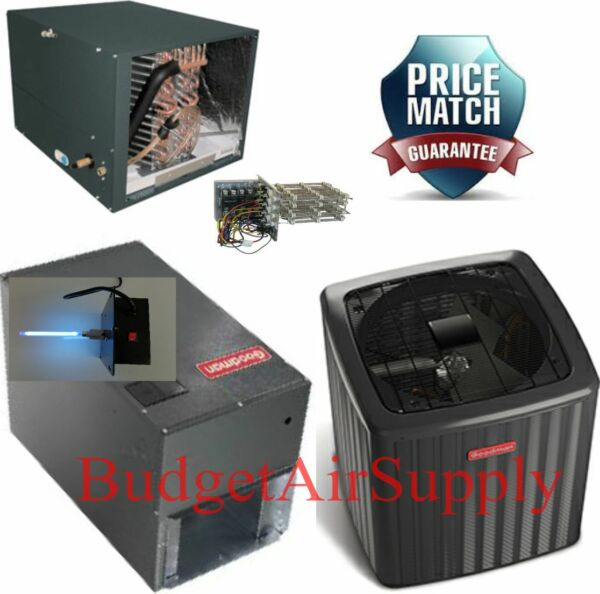 3 Ton 16 Seer 2 STAGE Heat Pump HORIZONTAL DSZC160361+MBVC1600+CHPF3642C+Heat+UV