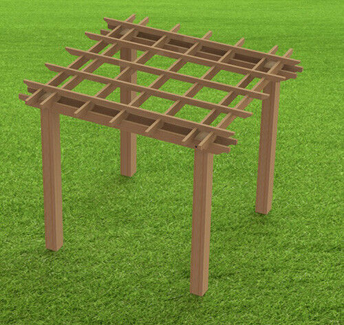 Garden Pergola Woodworking Plans Easy to Build