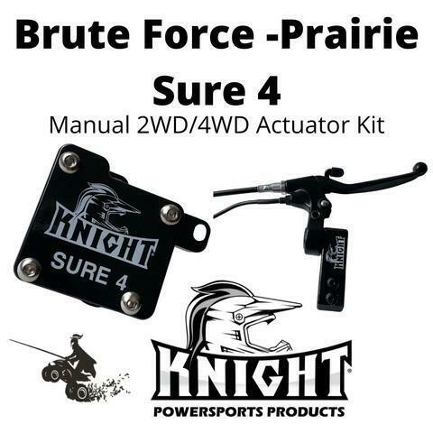 Brute Force Prairie Sure 4 Manual 2WD 4WD Actuator $299.00