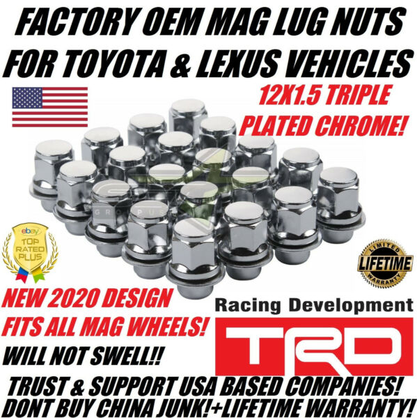 20 OEM FACTORY MAG LUG NUTS FOR TOYOTA & LEXUS 12X1.5 FOR MAG SEAT RIMS USA