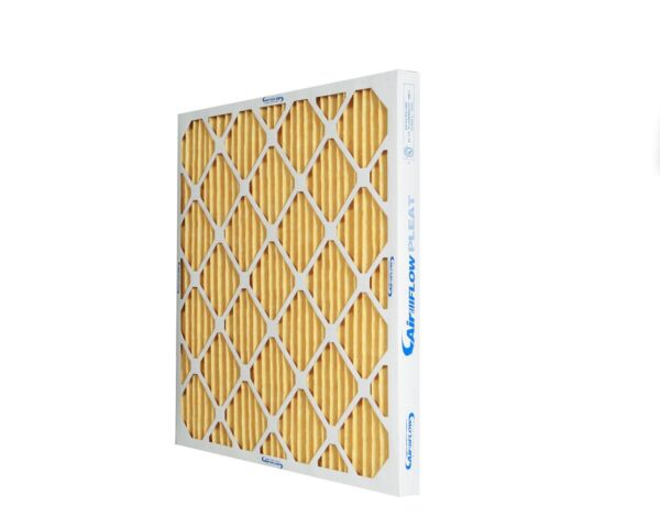 16x25x1 MERV 11 Top Rated Pleated Furnace HVAC Filters (6 pack). Made in NC!