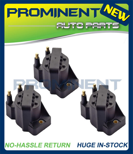Set of 3 Ignition Coils DR39 For Buick Cadillac Chevrolet Oldsmobile Pontiac