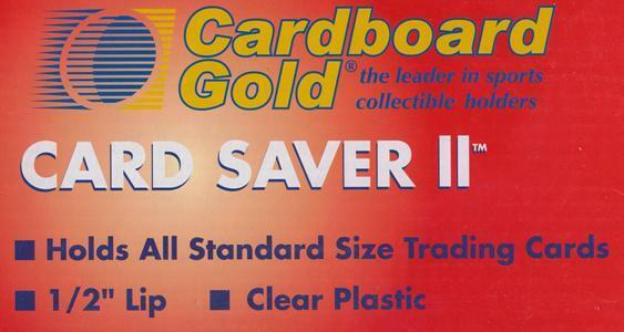 200 CBG Card Saver II  2 New Improved Semi Rigid Baseball Trading Card Holders
