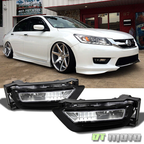 For 2013 2015 Honda Accord Sedan 4Dr Replacement Fog LightsSwitch LeftRight