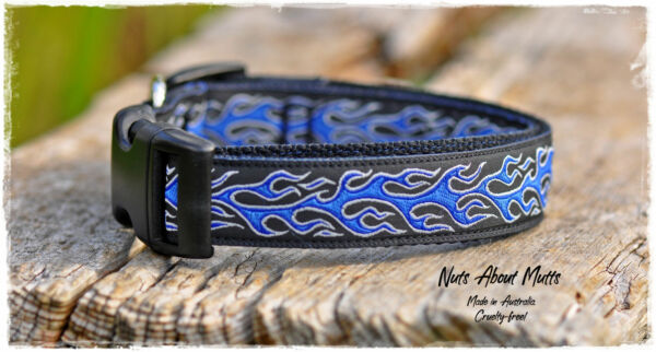 Hot Rod Dog collar med large x large sets strong dog collars and leads AU $25.00