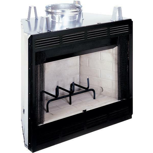 Comfort Flame 42-inch Builders Woodburning Fireplace Firebox