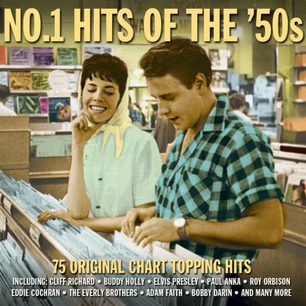 No.1 Hits Of The 50s (DAY3CD002) VARIOUS ARTISTS Best Of 75 Songs NEW 3 CD