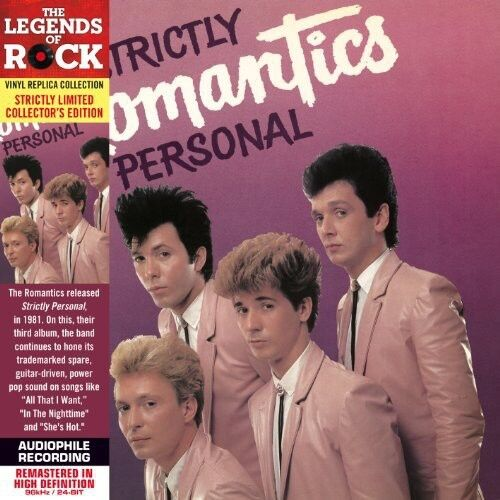 The Romantics Strictly Personal New CD