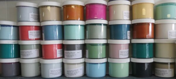 McClains Chalk Blended Paint Furniture Metal Wood Glass Shabby 8oz 50 Colors $12.55