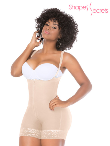 Fajas Colombianas Salome 0214 Women's Body Shaper Postsurgery Girdle Short Style