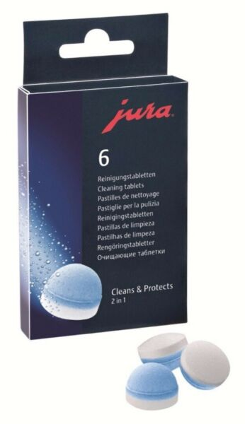 Capresso Jura Cleaning Tablet 6-pack for All JuraCapresso Automatic Coffee Cent