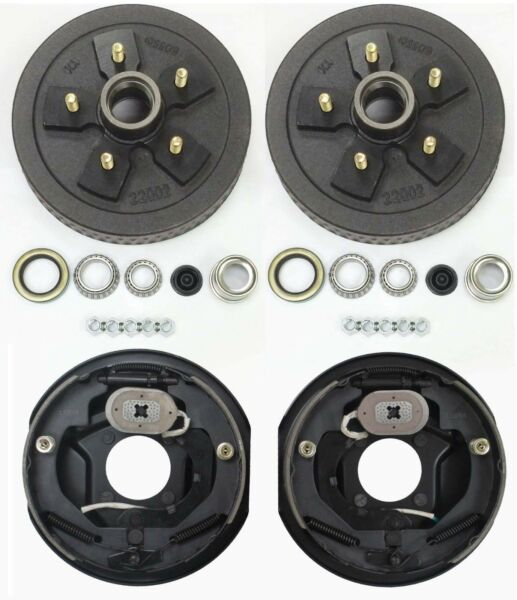 Trailer 5 on 5 Hub Drum Kits with 10quot;X2 1 4quot; Electric brakes for 3500 lbs axle $167.63