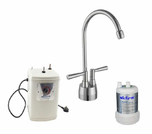 Boiling Water Tap Hot Drinks Metal Electric Heater Chromium Mixer Drinking Water