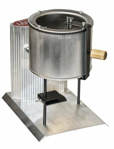New! Electric Lead Melting Pot Metal Melter Furnace Casting Molds 20 Pound Spout