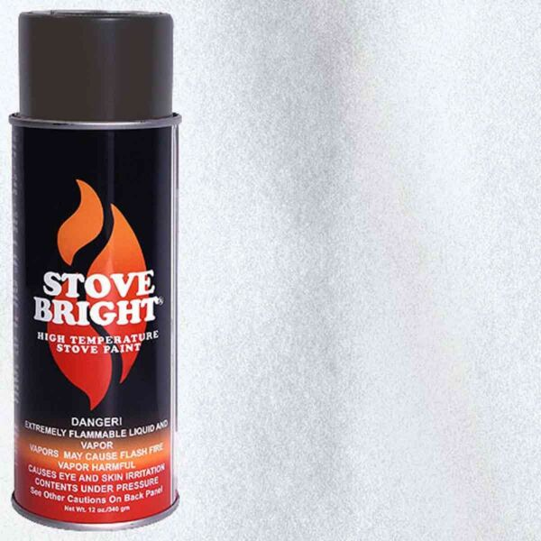 Stove Bright Fireplace Stove High Temperature Spray Paint Silver 6265