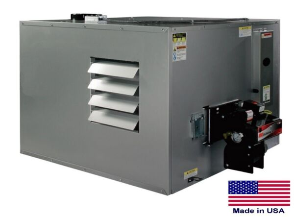 WASTE OIL HEATER Commercial  Ductable 300000 BTU  Incl TW Vent Kit  80 Gal Tank