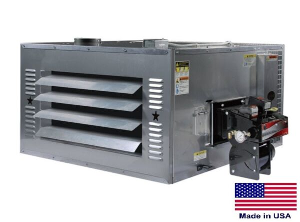 WASTE OIL HEATER Commercial - 200000 BTU - Incl TW Chimney Kit