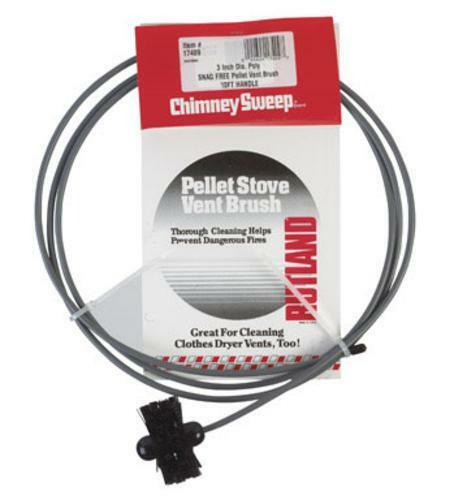 Rutland Chimney Sweep 17409 Pellet Stove Brush 3