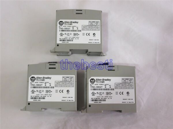 One Used AB Allen Bradley1762-OB32T 32 Point 24 VDC Source Output Module