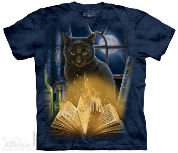 New The Mountain Bewitched Black Cat T Shirt