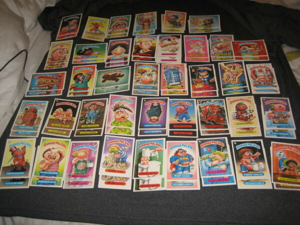 LOT (80) 1986 COMPLETE SET SERIES 5 GARBAGE PAIL KIDS GPK AUTHENTIC CARDS