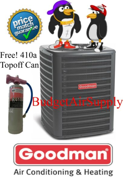 Goodman 3 Ton 16 Seer  HEAT PUMP-AC Split Condenser  PRE Charged 410a